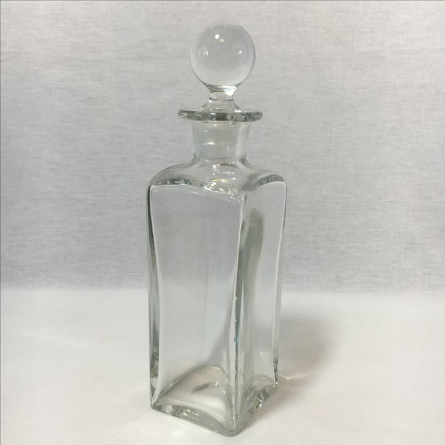Square Glass Decanter - Image 4 of 4