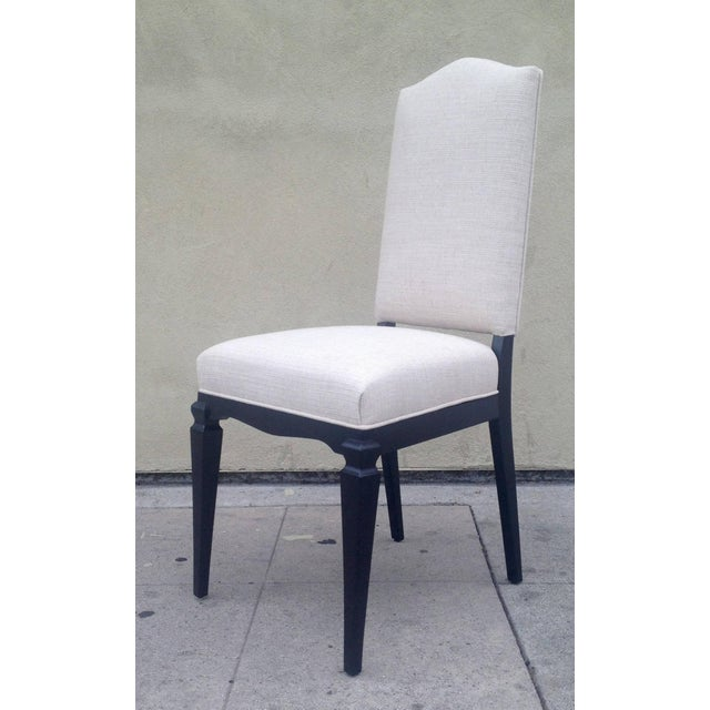 Contemporary Dining Chairs Att. To André Arbus - Set of 6 For Sale - Image 3 of 9