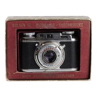Vintage Bosley Camera