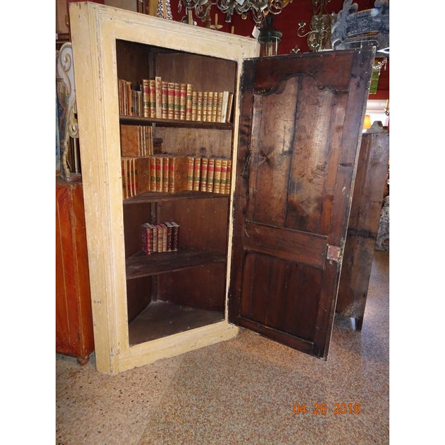 Mid 19th Century 19th Century French Corner Cabinet For Sale - Image 5 of 12