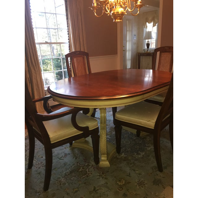 Blonde Mahogany Dining Set - Image 3 of 11
