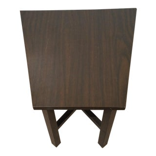 1960s Mid-Century Modern Edward Wormley for Dunbar Trapezoid Table For Sale