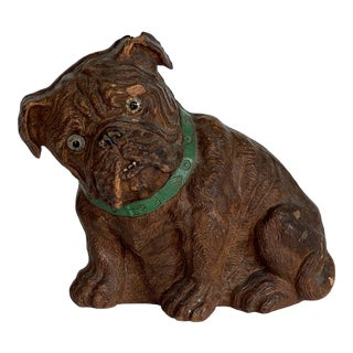1950s Painted Model of Bulldog For Sale
