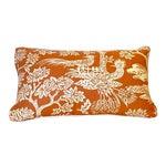 Turkish Quadrille Print Lumbar Pillow