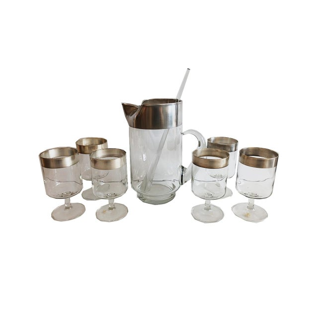 Dorothy Thorpe Allegro Cocktail Set For Sale In Boston - Image 6 of 6