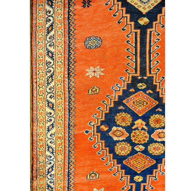 Wonderful Late 19th Century Antique Azari Rug For Sale - Image 4 of 7
