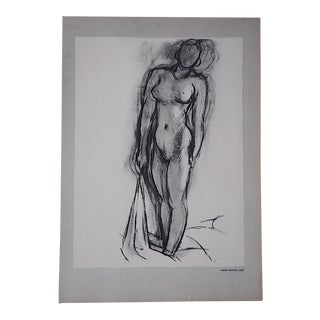 Vintage Matisse Lithograph-Verve-Paris-1939 For Sale