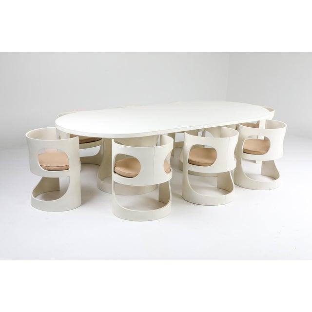 Arne Jacobsen Pre Pop Dining Set for Asko - 1969 For Sale - Image 12 of 12