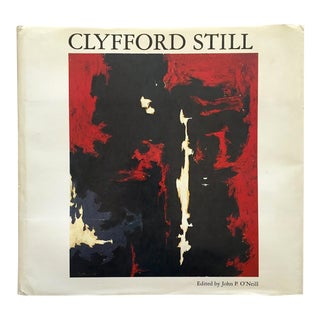 """ Clyfford Still "" Rare Vintage 1979 1st Edtn Collector's Metropolitan Museum of Art Iconic Exhibition Modernist Hardcover Art Book For Sale"