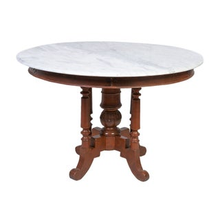 Colonial Javanese Dining Table For Sale