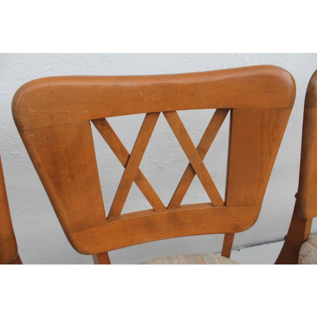 Heywood-Wakefield Dog Bone Chairs - Set of 6 For Sale - Image 10 of 11