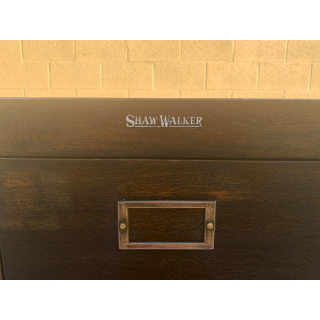 Shaw Walker Shaw Walker Vertical 4-drawer File Cabinet For Sale - Image 4 of 10