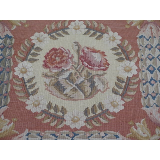 1980s Aubusson Room Size Rug - 8' X 12' For Sale - Image 10 of 13