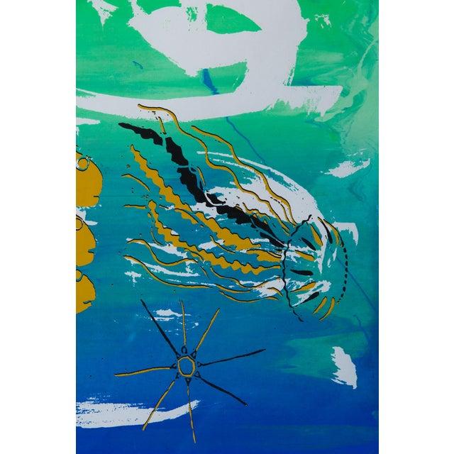 Barbara Vada Benson Seascape Serigraph - Image 6 of 6