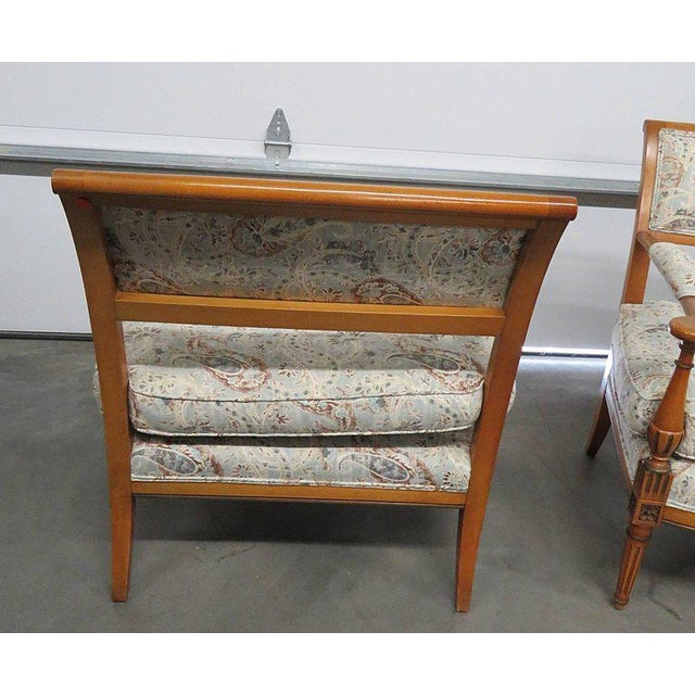 Louis XVI Style Marquis- A Pair For Sale - Image 4 of 6