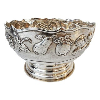 Antique Silver Bowl For Sale