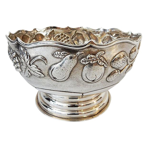 Antique Silver Bowl - Image 1 of 7