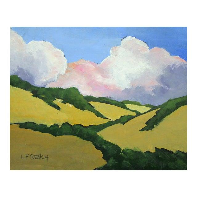 California Malibu Hills Morning Clouds Landscape Lynne French For Sale
