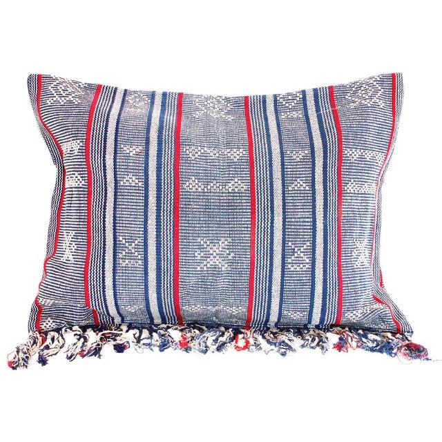 Sumba Indigo Ikat Pillow Cover - Image 1 of 4