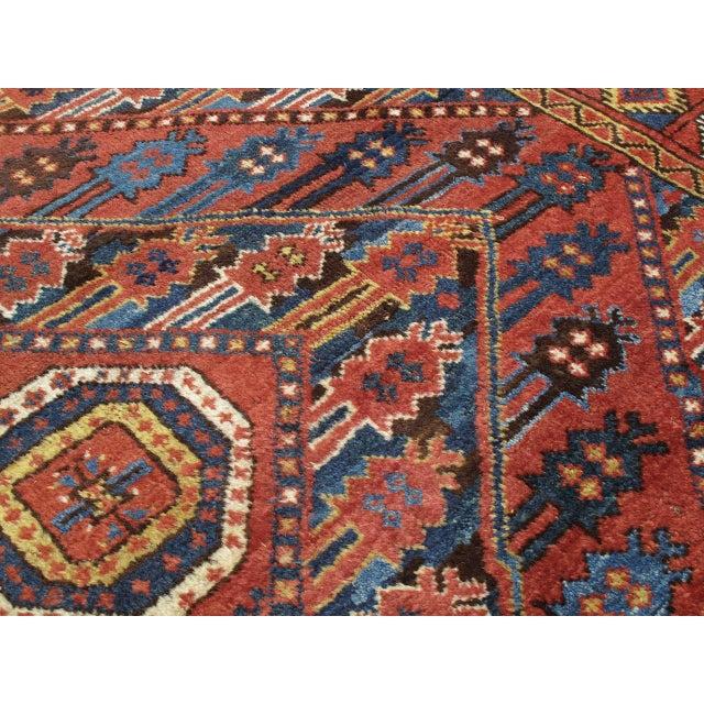 Antique Beshir Turkmen Rug For Sale In New York - Image 6 of 8