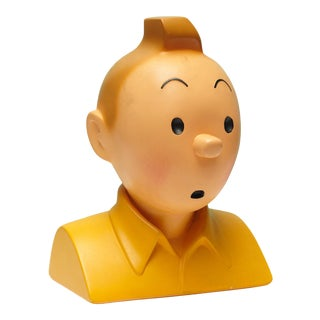 Vintage Tintin Bust For Sale