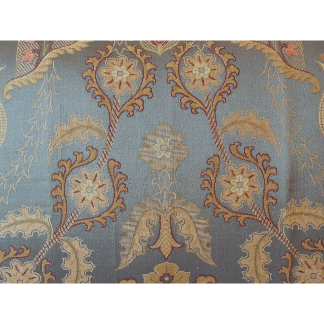 Vintage Brocaded Textile Silk Pillow. - Image 3 of 5
