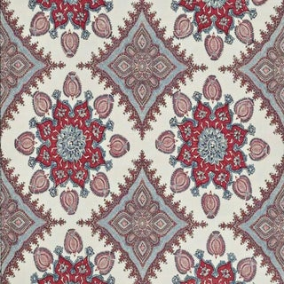 Boho Chic Pierre Frey Indore Linen Designer Fabric by the Yard For Sale