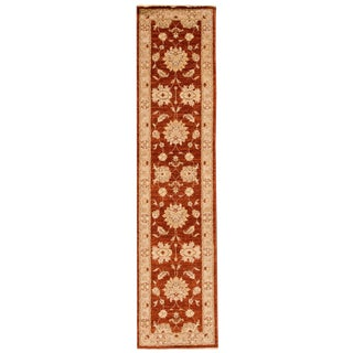 "21st Century Contemporary Indian Runner Rug, 2'4"" X 10'0"" For Sale"