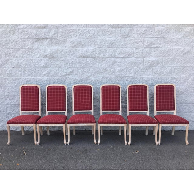 Red Comidi & Modonutti Dining Chairs - Set of 6 For Sale - Image 8 of 8