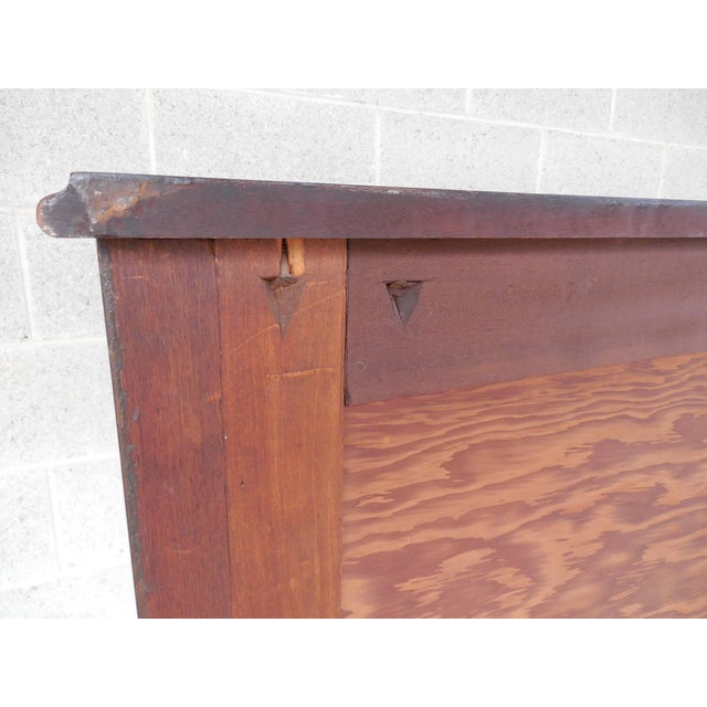 Antique / Vintage Walnut French Louis XV Style 5 Drawer Commode For Sale - Image 10 of 11