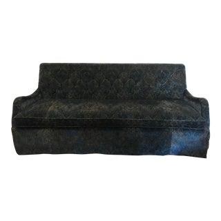 Lee Industries Custom Velvet Sofa