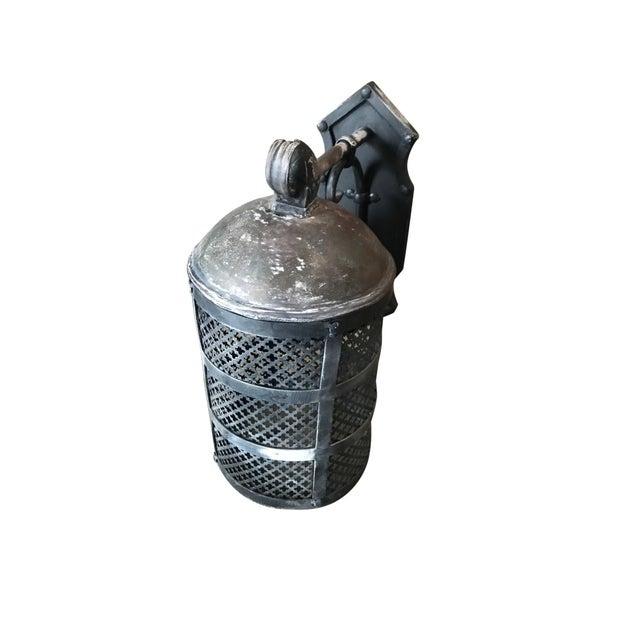 Iron Iron Lantern For Sale - Image 7 of 7