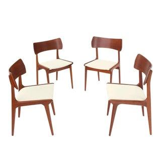 Danish Mid-Century Modern Teak Dining Chairs - Set of 4 For Sale