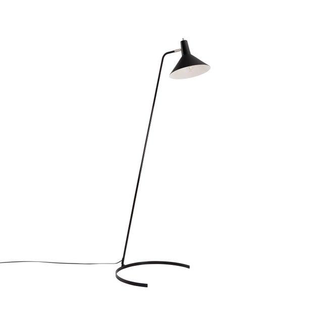 Not Yet Made - Made To Order J.J.M. Hoogervorst Model #1505 'Horseshoe' Floor Lamp for Anvia in Black For Sale - Image 5 of 5