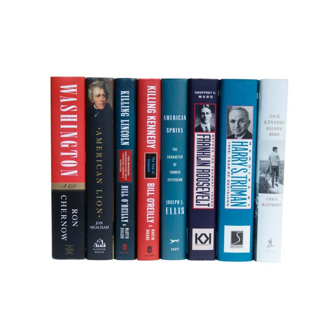 American United States Presidents Book Collection - Set of 8 For Sale - Image 3 of 6