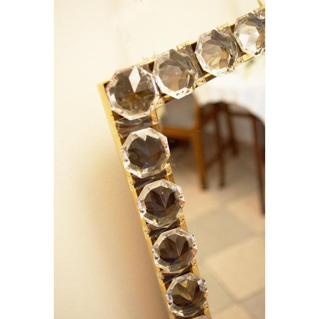 Vintage crystal mirror by Bakalowits & Sohne For Sale - Image 6 of 11
