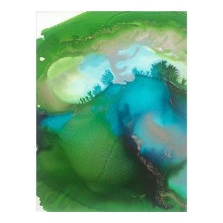 'GAiA' original abstract painting by Linnea Heide