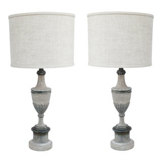 Stifel Regency Style Table Lamps - A Pair For Sale