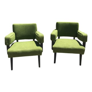 Vintage Mid Century Chairs-A Pair For Sale