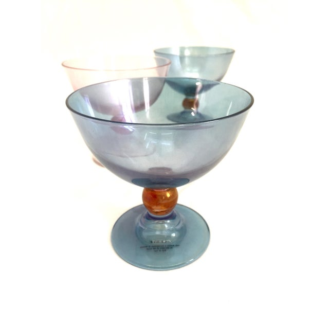 Cerve Italian Glassware - 4 For Sale - Image 7 of 8
