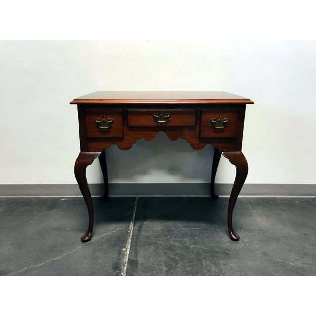 BIGGS Mahogany Queen Anne Low Boy Dresser Chest - Image 2 of 11