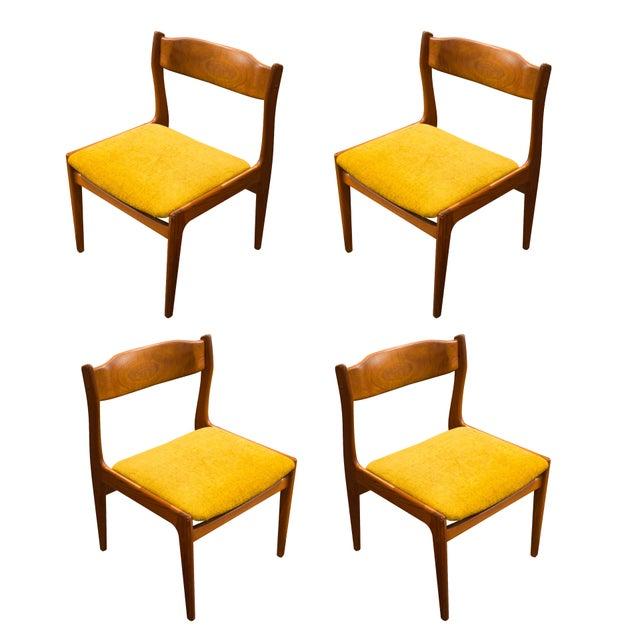 Danish Modern Teak Dining Chairs - 4 - Image 1 of 5