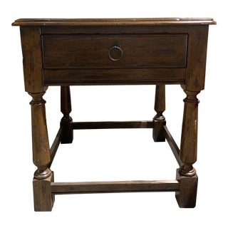 Traditional Hekman End Table For Sale