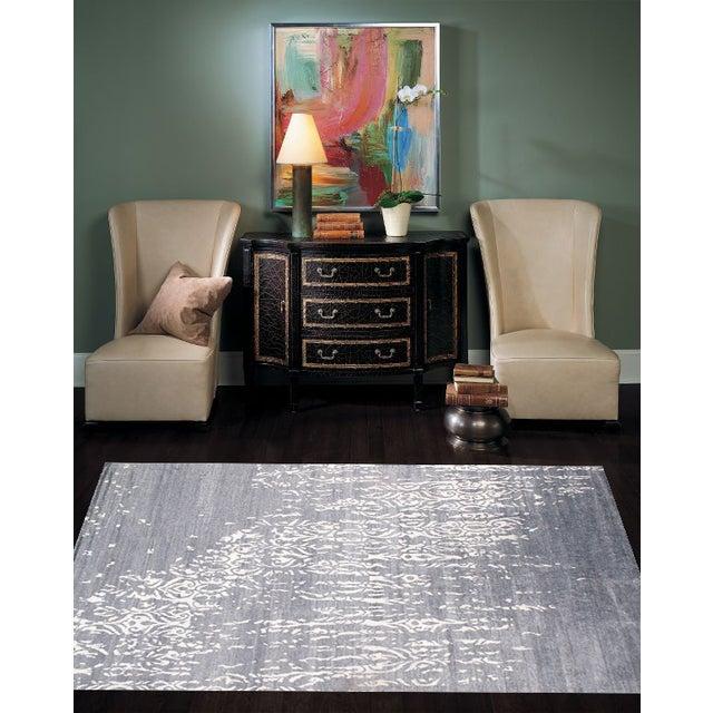 "Contemporary Viscose Silk Rug - 9' X 12'2"" - Image 2 of 2"