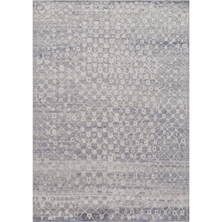 Mansour Modern Handwoven Moroccan Inspired Rug For Sale