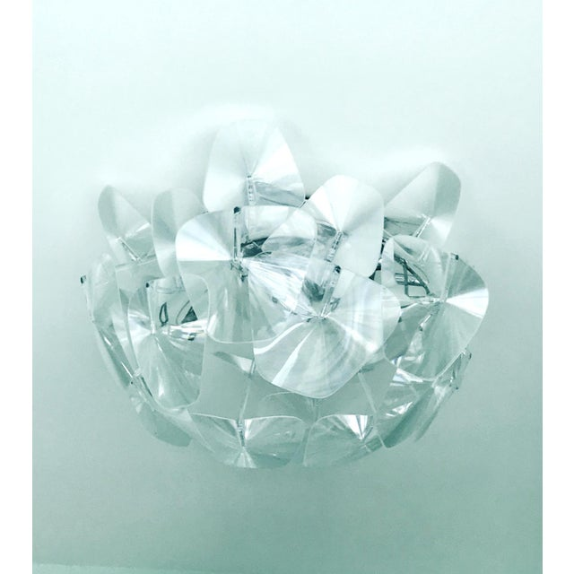 Lucite Hope Modernist Ceiling Light With Reflective Prisms by Luceplan, Italy 2018 For Sale - Image 7 of 13