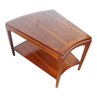 Mid-Century Modern Lane Rhythm Wedge Side Table For Sale