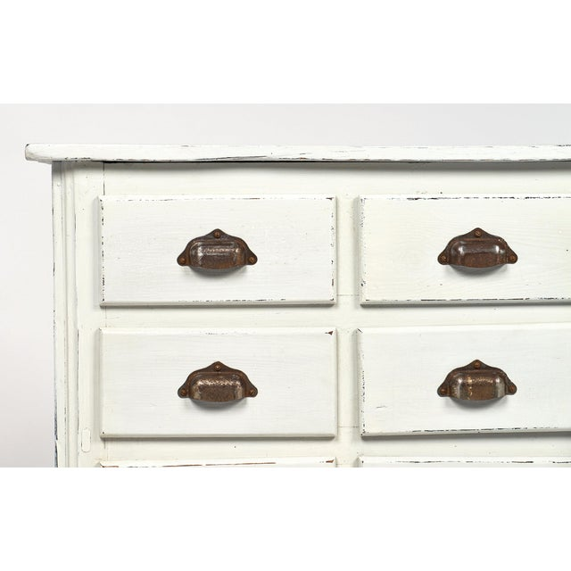 Antique French Haberdashery Cabinet For Sale In Austin - Image 6 of 11