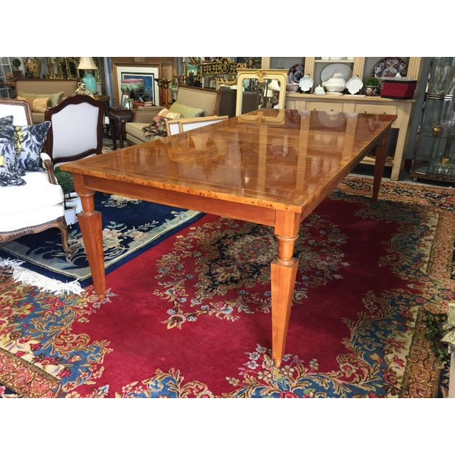 Vintage Baker Walnut Dining Table - Image 2 of 8