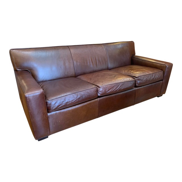 Marvelous Restoration Hardware Maxwell Leather Sofa Evergreenethics Interior Chair Design Evergreenethicsorg